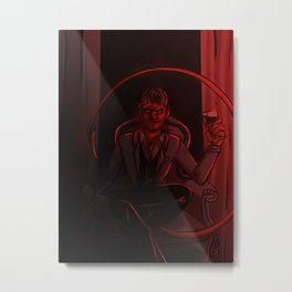 Demonic Seduction Metal Print