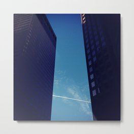 Contrails - 3 Metal Print