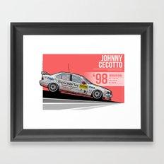 Johnny Cecotto - 1998 Nürburgring Framed Art Print