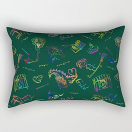 Magic symbols Rectangular Pillow