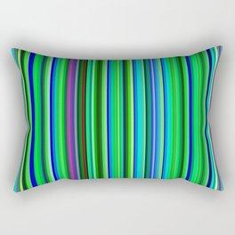 Colorful Barcode Rectangular Pillow