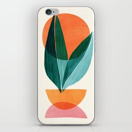 Nature Stack II / Abstract Shapes Illustration iPhone Skin