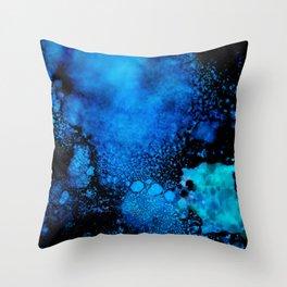 Celestial Blue Throw Pillow