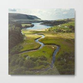 Stunning Peak District National Park Reservoirs Metal Print