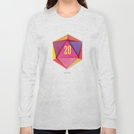 Rolling D20's Like A Big Shot  Long Sleeve T-shirt