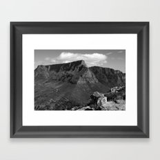 Table Mountain Cape Town South Africa Framed Art Print
