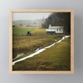 Amish country - Knox, Ohio Framed Mini Art Print