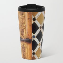 The door in The Alhambra Palace Travel Mug