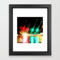 Always Stop and Go Framed Art Print