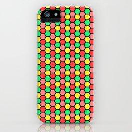Happy Honeycombs iPhone Case