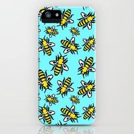Honey Bee Swarm iPhone Case
