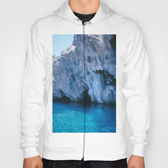NATURE'S WONDER #5 - BLUE GROTTO (Turkey) #2 #art #society6 Hoody
