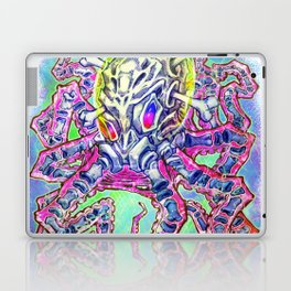 Skeleton Octopus Alien Laptop & iPad Skin