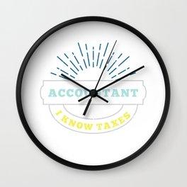 Accountant Student Cpa Graduate Wall Clock