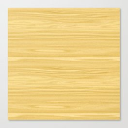 Ash Wood Texture Canvas Print