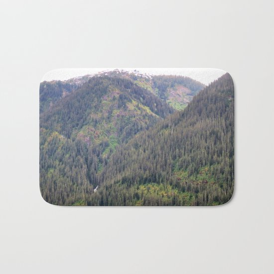Forest and Mountains Bath Mat