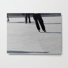 On Ice Metal Print