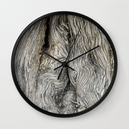 Twisted by Time Wall Clock
