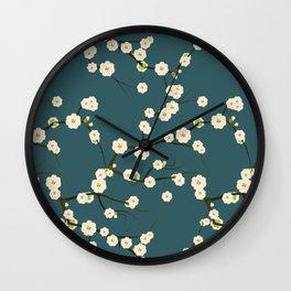 fleuri 4 Wall Clock