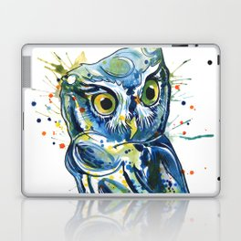 Blue Owl Laptop & iPad Skin