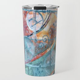 Olympic Ice-sculpting in Kostroma Travel Mug