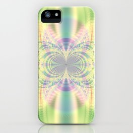 Fractal Abstract 21 iPhone Case