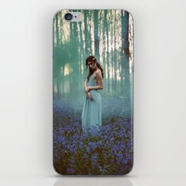Girl in forest 2 iPhone Skin