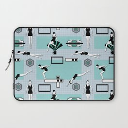 Art Deco Swimmers Laptop Sleeve