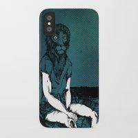 monkey iPhone & iPod Cases featuring Monkey by Merwizaur
