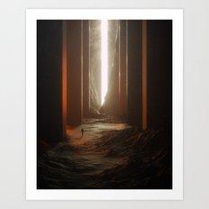 Hall Of Wonders Art Print