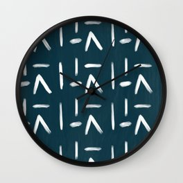 Abstract Bohemian Pattern  Wall Clock