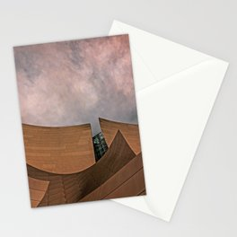 Architectural abstract of the home of the LA Philharmonic. Architect: Frank Gehry Stationery Cards