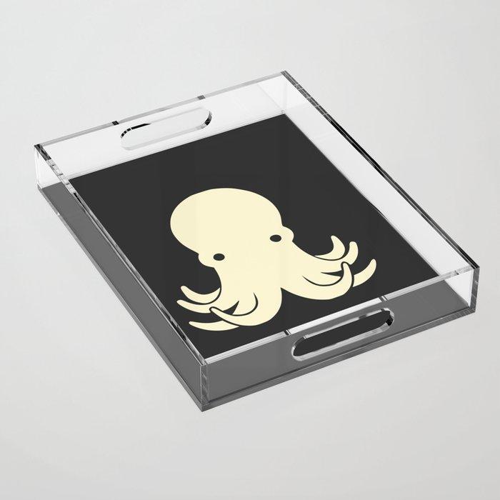 Baby octopus Acrylic Tray