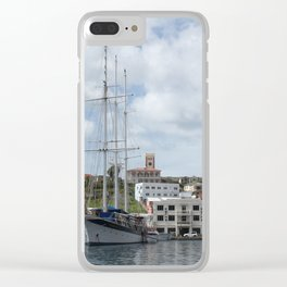 Sailing Boat at Grenada Clear iPhone Case