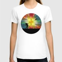 tie dye T-shirts featuring Tie Dye Silhouette Golfer by Phil Perkins