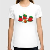 strawberry T-shirts featuring Strawberry by DanBee Kim