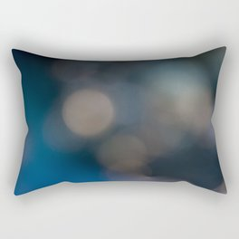 Abstract in Blue, No. 2 Rectangular Pillow