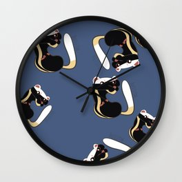 African Wildlife Poecilogale (African Weasel) Wall Clock