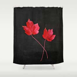 Maple Twins Shower Curtain