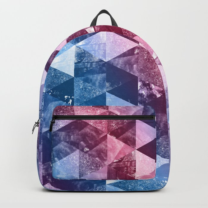 Abstract Geometric Background #8 Backpack