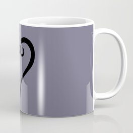 Kingdom Hearts Logo (Black) Coffee Mug