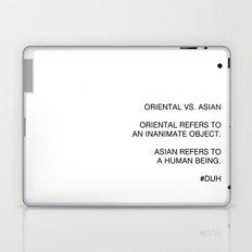 Oriental vs. Asian  Laptop & iPad Skin