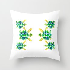 Turtle Love Throw Pillow