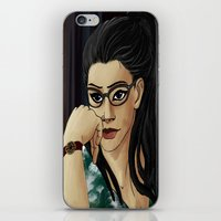 cosima iPhone & iPod Skins featuring cosima by lulu555