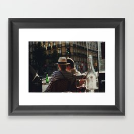 Lovers in Paris Framed Art Print