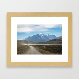 Patagonia Landforms  Framed Art Print
