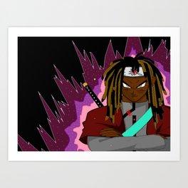 Rho The Saiyan :) Art Print