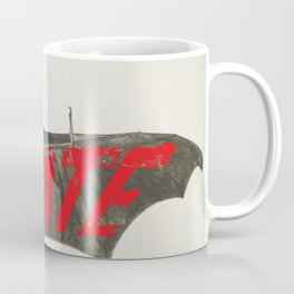 Love Hate Bat Coffee Mug