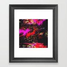 Fuck The Trees Fill Up The Tank Framed Art Print