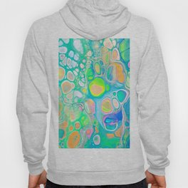 Blue Green Cells Hoody